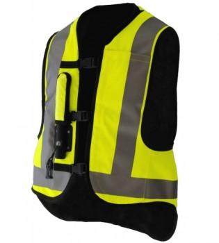 Helite  Airbag Weste - High  Neon -  Gr.XLL
