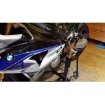BMW S1000RR 2014 Bursig Ständer Weiß