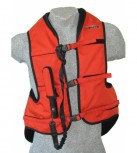 Helite   Airbag Vest  Orange  Size M