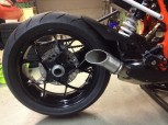 Exhaust / Tail from KTM 1290 Super Duke R  2014 -